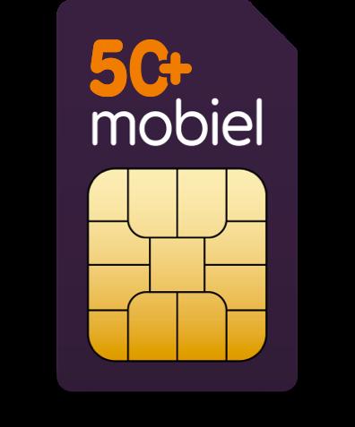 50Plus mobiel 3 maanden Gratis simkaart